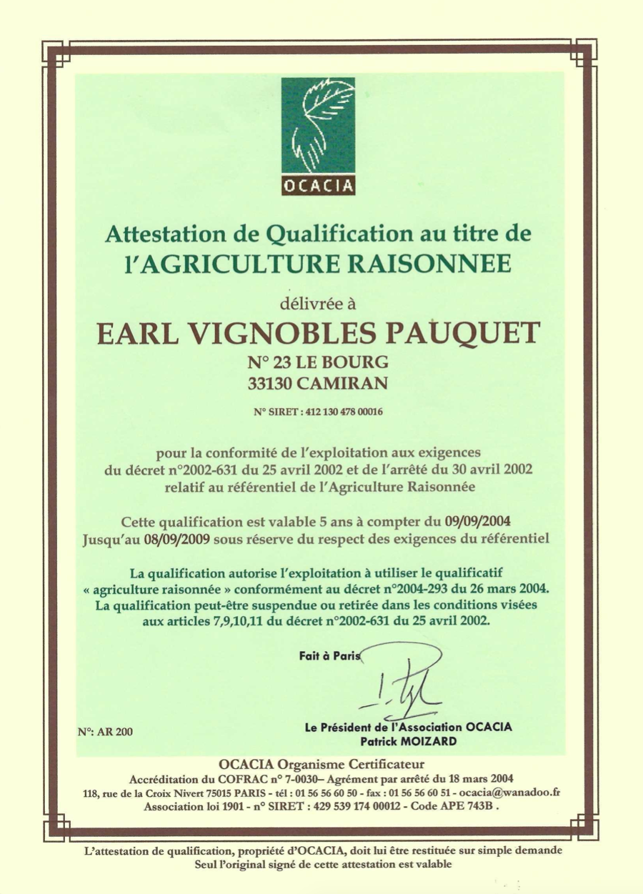agriculture responsable